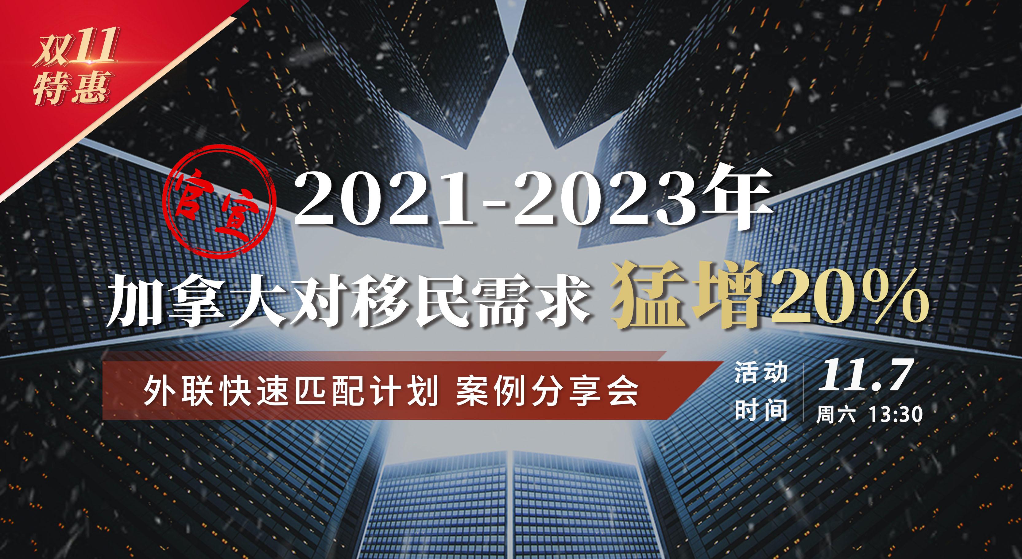 加拿大快速匹配计划—分享会(上海)